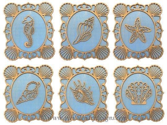 Scroll Saw Sea Life Pattern