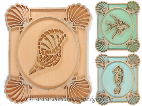 Scroll Saw Sea Life Pattern