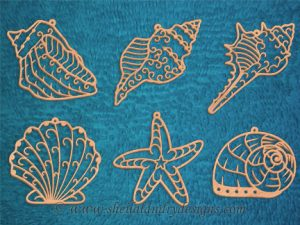 Scroll Saw Seashell Pattern
