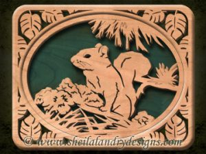 Scroll Saw Squirrel Pattern
