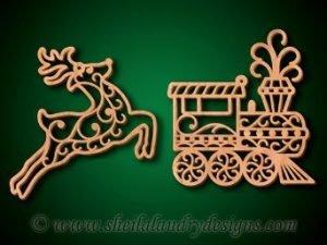 Scroll Saw Traditional Filigree Ornaments