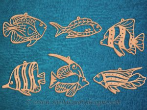 Scroll Saw Tropical Fish Pattern