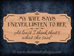 Scroll Saw Wife Pattern