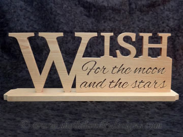 Scroll Saw Wish Pattern