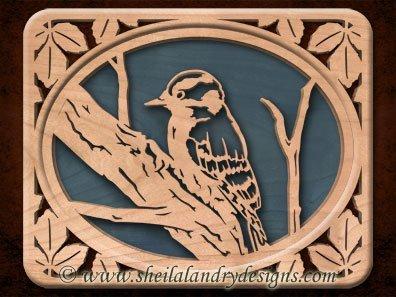 Scroll Saw Woodpecker Pattern