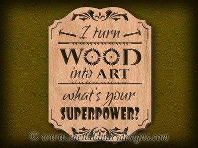 Scroll Saw Woodworker Pattern