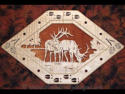 Scroll Saw Elk Pattern