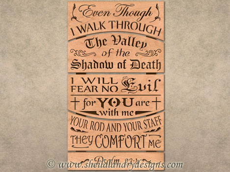 Shadow Of Death Scroll Saw Pattern