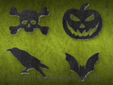 Scroll Saw Halloween Ornaments Pattern