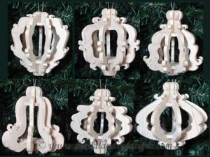 Victorian Scroll Saw Ornaments Pattern