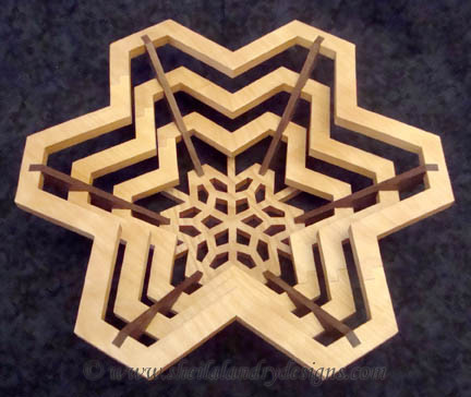 Snowflake Woodworking Plans