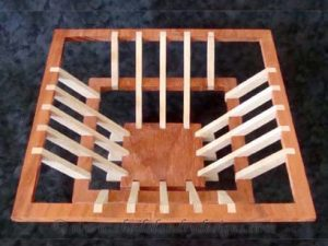 Square Scroll Saw Basket Pattern