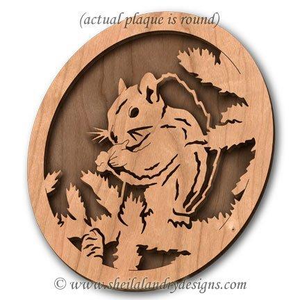 Squirrel Laser Pattern