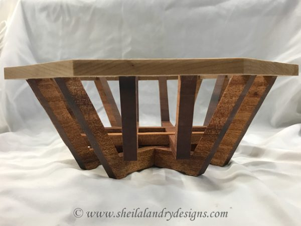 Strata Basket Woodworking Plans