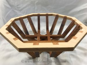 Strata Scroll Saw Basket Pattern