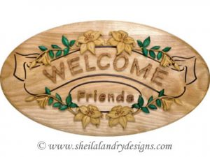 Summer Welcome Scroll Saw Segmentation Pattern