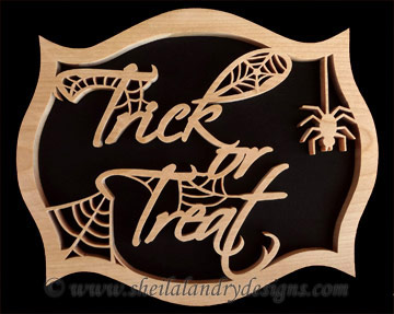 Trick Or Treat Scroll Saw Pattern