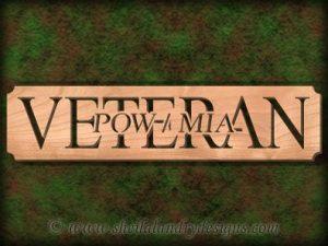 Veteran POW / MIA Scroll Saw Pattern
