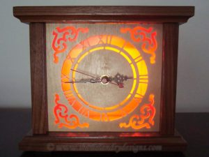 Victorian Scroll Saw Clock Pattern