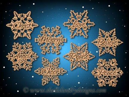 Winter Snowflake SVG