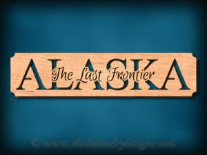 Alaska The Last Frontier Scroll Saw Pattern
