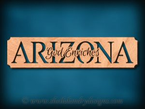 Arizona God Enriches Scroll Saw Pattern