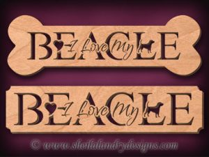 Beagle Scroll Saw Pattern