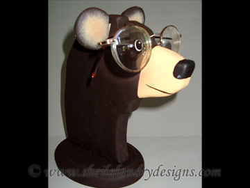 Bear Glasses Stand Woodworking Plans