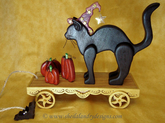 Black Cat Scroll Saw Pattern