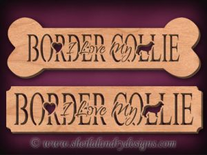 Border Collie Scroll Saw Pattern