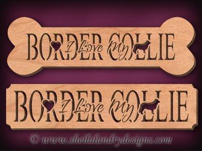 Border Collie Scroll Saw Pattern