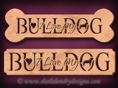 Bulldog Scroll Saw Pattern