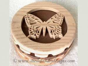 Butterfly Box Scroll Saw Pattern