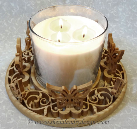 Candle Tray Woodworking Plans