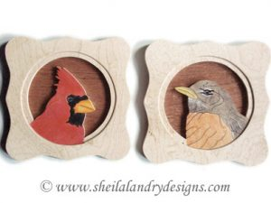 Cardinal & Robin Scroll Saw Pattern