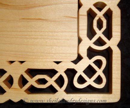 Celtic Knot Vector Laser Pattern