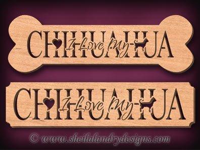 Chihuahua Scroll Saw Pattern