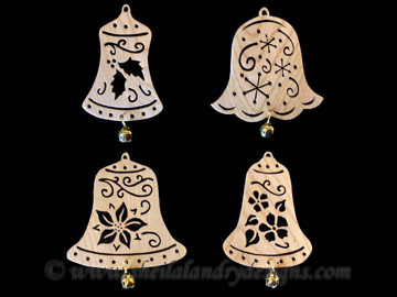 Christmas Bell Scroll Saw Pattern