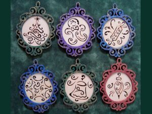 Christmas Ornaments Scroll Saw Pattern