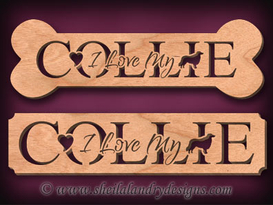Collie Scroll Saw Pattern
