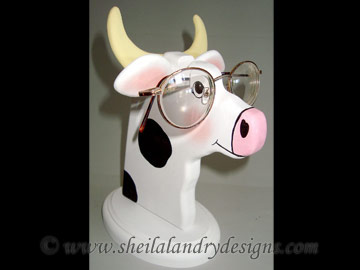 Cow Glasses Stand Woodworking Plans
