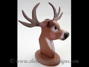 Deer Eyeglass Holder Bandsaw Project