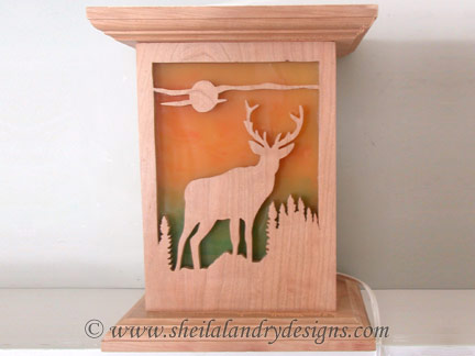 Deer Nightlight Scroll Saw Pattern