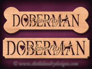 Doberman Scroll Saw Pattern