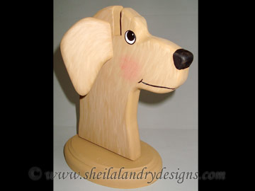 Dog Eyeglass Holder Bandsaw Project