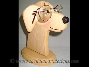 Dog Glasses Stand Woodworking Plans