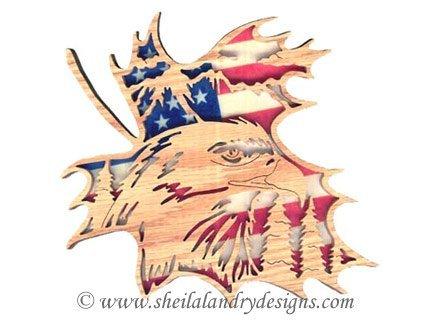 Bald Eagle Laser Pattern