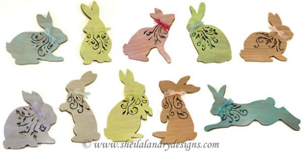 Easter Ornaments Scroll Saw Pattern