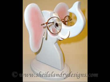Elephant Glasses Stand Woodworking Plans