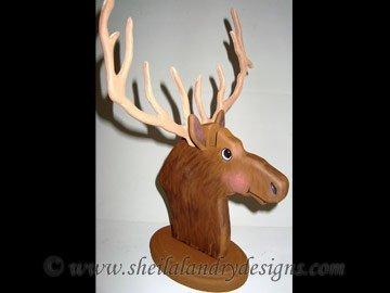 Elk Eyeglass Holder Bandsaw Project